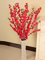 Seda / Plástico Ameixa Flores artificiais