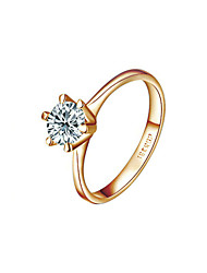 cheap -Ring Women's Cubic Zirconia Alloy Alloy 6 / 7 / 8 / 9 Gold