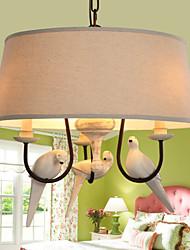 cheap -Vintage LED Pendant Light Downlight For Living Room Bedroom Dining Room Study Room/Office Kids Room Game Room Warm White Yellow 220-240V