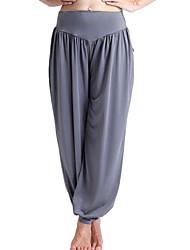 abordables -Pantalones de yoga Pantalones/Sobrepantalón Secado rápido Materiales Ligeros Eslático Ropa deportiva MujerYoga Pilates Ejercicio y