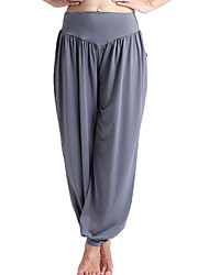 economico -Pantaloni da yoga Pantalone/Sovrapantaloni Asciugatura rapida Materiali leggeri Elastico Abbigliamento sportivo Per donnaYoga Pilates