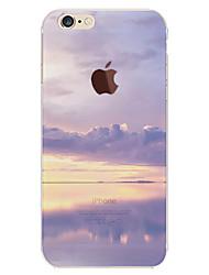 Недорогие -Кейс для Назначение Apple iPhone 6 Plus / iPhone 6 С узором Кейс на заднюю панель Цвет неба / Пейзаж Мягкий ТПУ для iPhone 6s Plus / iPhone 6s / iPhone 6 Plus
