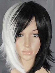 cheap -Popular in Europe And The Black And White Hair COS Anime Wig