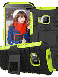 Armor Case Hybrid Kickstand Display Cover Combo Hard PC + TPU Case For HTC E9/E9 Plus/M8/M9/Desire 820 mini