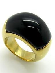 cheap -Men's Women's Ring Personalized Geometric Vintage Euramerican Fashion Double-layer Rock Titanium Steel Geometric Costume Jewelry Party
