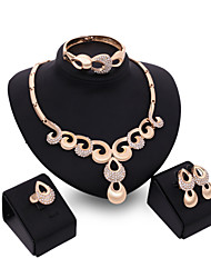 cheap -Women's Jewelry Set Vintage Cute Party Work Casual Link/Chain Fashion Statement Jewelry Party Special Occasion Anniversary Birthday Gift