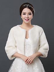 economico -gli involucri di nozze di pelliccia ecologica fanno spallucce lo stile femminile classico