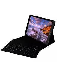 Недорогие -Кейс для Назначение Apple iPad Pro 12.9'' со стендом / с клавиатурой / Флип Чехол Однотонный Твердый Кожа PU