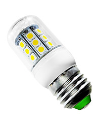 cheap -2.5W E26/E27 LED Corn Lights T 27 leds SMD 5050 Warm White 150-200lm 2500-3500K AC 85-265V