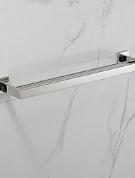 abordables -1 pièce Moderne Acier inoxydable Barre porte-serviette / Salle de Bain