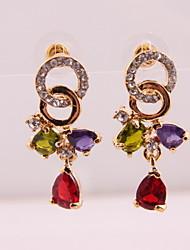 cheap -Fashion new style women crystal drop earrings Classical Feminine Style