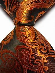 abordables -Homme Rétro Mignon Soirée Travail Décontracté Polyester Cravate Toutes les Saisons Arc-en-ciel