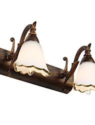 baratos -Rústico / Campestre Iluminação do banheiro Metal Luz de parede 110-120V / 220-240V 40W