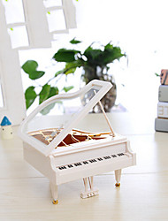 Mini Piano Music Box Model LY2002 Plastic Crafts