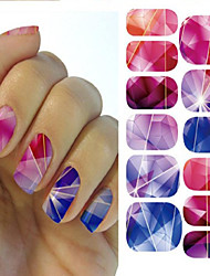 3D Nail Stickers / Nail Jewelry - PVC - Punk - Sormi - 145*75mm - 1pcs