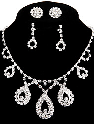 cheap -Women's Luxury Handmade Chain Necklace Rhinestone Alloy Chain Necklace , Wedding Party Engagement