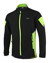 preiswerte -Arsuxeo Fahrradjacke Herrn Fahhrad Jacke Trikot/Radtrikot Oberteile Winter Vlies Fahrradbekleidung warm halten Windundurchlässig