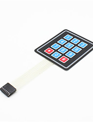 cheap -3x4 Matrix 12 Key Membrane Switch Keypad Keyboard