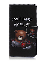 رخيصةأون -غطاء من أجل Samsung Galaxy حالة سامسونج غالاكسي محفظة / حامل البطاقات / مع حامل غطاء كامل للجسم كارتون جلد PU إلى S6 edge plus / S6 edge / S6