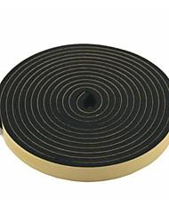 Недорогие -2 шт 5 метров 20мм широкая черная пена воздуха запечатаны полосы для двери автомобиля