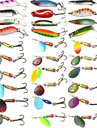 "cheap -1 pcs Hard Bait Fishing Lures Metal Bait Hard Bait Spoons g / Ounce, 200*150*50 mm / 2-1/8"" inch, Hard Plastic Sea Fishing Bait Casting"