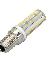 E14 LED Mais-Birnen T 64 Leds SMD 3014 400-500lm Warmes Weiß Kühles Weiß 3500/6500K Dekorativ AC 220-240