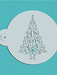 cheap -Christmas Decorating Stencil Template Spray Paint Stencils Wall Design Stencils  ST-1290