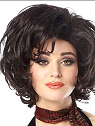 cheap -Women Lady Hot Selling Short Natural Color #1B  Synthetic Wigs
