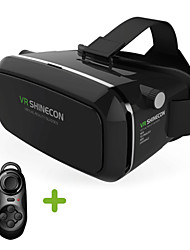 cheap -VR Virtual Reality 3D Glasses Headset Head Mount 3D For 3.5-6.0 inch Phone + Bluetooth Remote Control