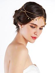 Damen Legierung Kopfschmuck-Freizeit im Freien Kopfkette 1 Stück