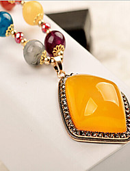 cheap -Women's Pendant Necklace  -  Bohemian Fashion Screen Color Necklace For