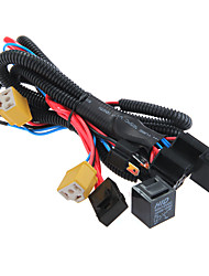 cheap -H4/9003 Headlight Booster Wire Harness Connector Relay Fuse Socket