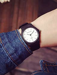 cheap -Korea Simple New Women Analog Quartz Wrist Watch Men Vintage Student Watch(Assorted Colors) Cool Watches Unique Watches