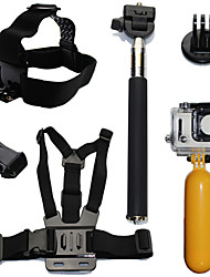cheap -Accessory Kit For Gopro Waterproof / Floating For Action Camera Gopro 6 / All Action Camera / Gopro 5 Diving / Surfing / Ski / Snowboard