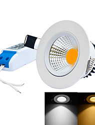 LED Recessed Lights 1 Integrate LED 0~450lm Warm White Cold White 6000-6500K/3000-3200K Dimmable AC 85-265V