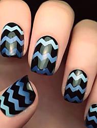 abordables -5x82pcs diferentes tamaños toma de herramienta profesional del arte patrón de uñas