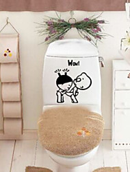 cheap -Stickers Toilet / Bathtub / Shower / Medicine Cabinets Plastic Multi-function / Eco-Friendly / Cartoon / Gift