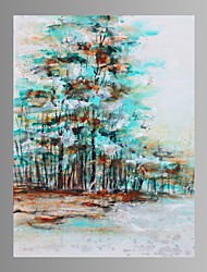 cheap -Hand Painted Tree Oil Paintings On Canvas Wall Art Pictures For Home Decoration Ready To Hang