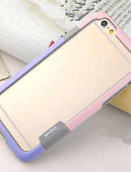 For iPhone 8 iPhone 8 Plus iPhone 6 iPhone 6 Plus Case Cover Shockproof Transparent Bumper Case Solid Color Soft TPU for iPhone 8 Plus