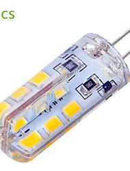 baratos -YWXLIGHT® 5pçs 4 W 400 lm G4 Luminárias de LED  Duplo-Pin T 24 Contas LED SMD 2835 Decorativa Branco Quente / Branco Frio 12 V / 5 pçs / RoHs