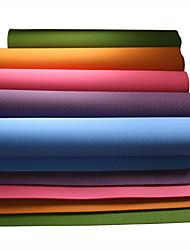 preiswerte -Yoga Matte Geruchsfrei, Umweltfreundlich, Klebrig TPE Wasserdicht, Rasche Trocknung, Rutschfest Zum Yoga / Pilates Grün, Blau, Burgund