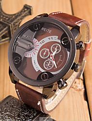 cheap -Men's Fashion Big Dial Sport Quartz  Wrist Watch(Assorted Colors) Cool Watch Unique Watch