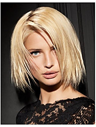 cheap -Women Synthetic Wig Straight Blonde Costume Wig