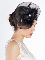 Women's Tulle Headpiece-Special Occasion Birdcage Veils