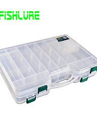 Недорогие -Коробка для мормышек Водонепроницаемый 2 Поддоны Жесткие пластиковые 29 cm 6 cm