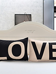 Love Together Pillowcase New Year Gifts Decorative Covers Body Pillow Case Bedding Valentine's Gift 2Pcs/Pair