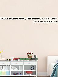 economico -w-18 wall sticker adesivo Yoda Maestro Jedi davvero meravigliosa decalcomania del vinile