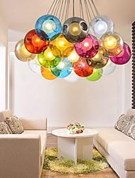 G4 220V 12CM Creative The Nordic Color Restoring Ancient Ways Goldfish Bowl Glass Creative Droplight Lamp Led Light