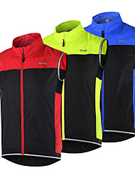 cheap -Arsuxeo Cycling Vest Men's Women's Unisex Bike Vest/Gilet Windbreaker Jacket Top Bike Wear Quick Dry Windproof Breathable Reflective