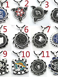 cheap -Jewelry Inspired by Attack on Titan Cosplay Anime Cosplay Accessories Necklace Silver Alloy Male